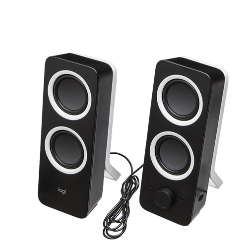 External Speaker System (Logitech Z200)