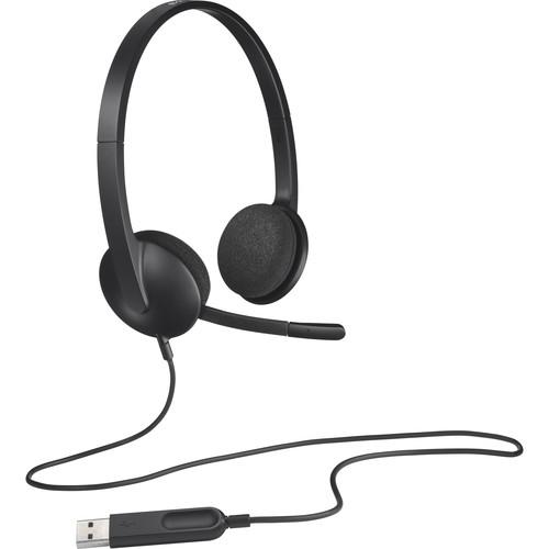 Headphones (Logitech H340)